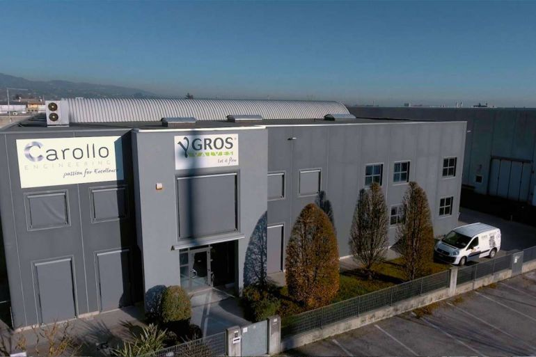 YGROS Valves | CAROLLO Engineering: Our Company